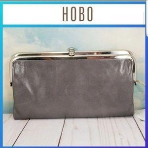 HOBO Lauren Clutch Wallet Graphite
